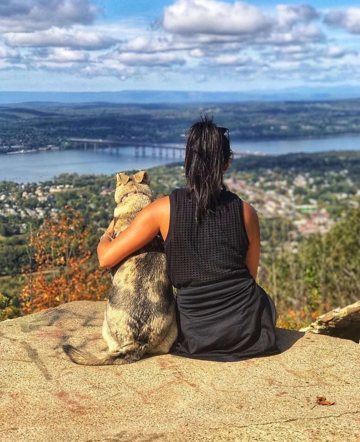A climb up Mount Beacon gives a bird's eye view of the Hudson River and Newburgh.