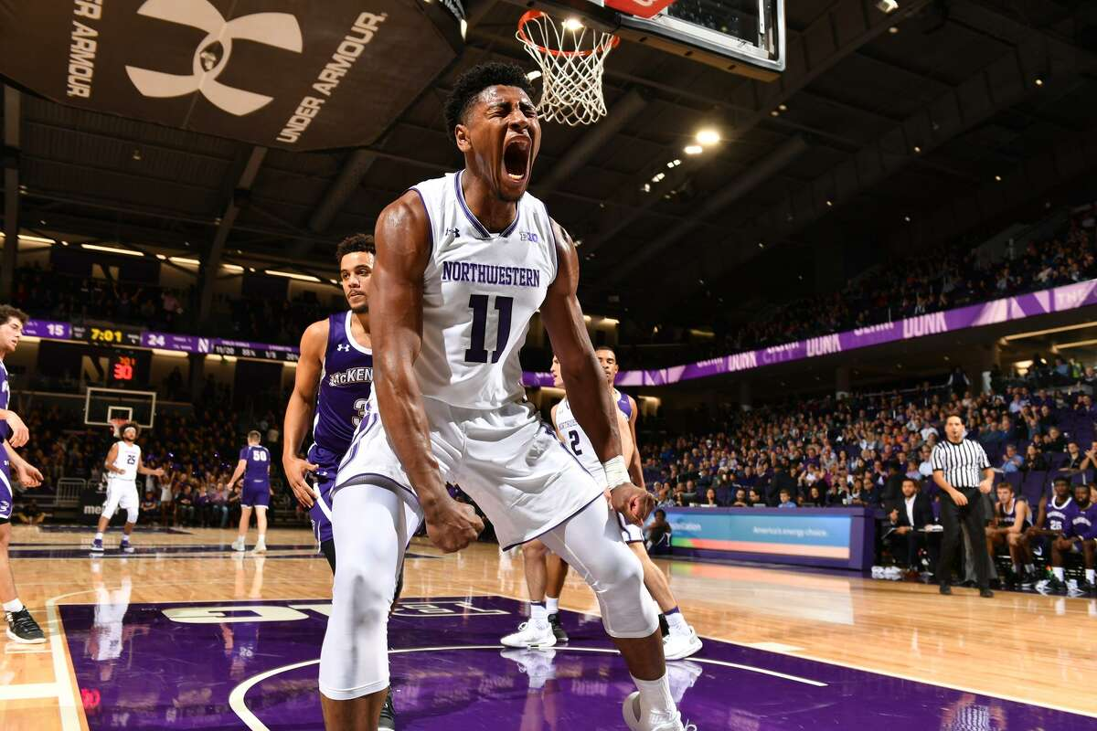 Anthony Gaines, a Kingston native, was offered a scholarship by Siena in 2014 before committing to Northwestern, where he played four seasons. (Northwestern athletic communications)