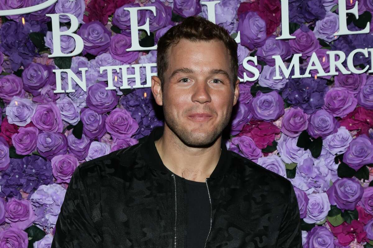 """Reality TV Personality Colton Underwood attends the screening of Lionsgate's """"I Still Believe"""" at Fairfax Cinemas on March 11, 2020 in West Hollywood, California. (Photo by Paul Archuleta/Getty Images)"""