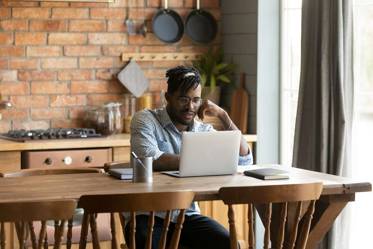 Some workers have enjoyed the short commute to the dining room table and will likely continue to work from home even after the pandemic ends.