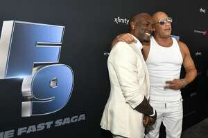 MIAMI, FLORIDA - JANUARY 31: Tyrese Gibson and Vin Diesel attend Universal Pictures Presents The Road To F9 Concert and Trailer Drop on January 31, 2020 in Miami, Florida. (Photo by Frazer Harrison/Getty Images for Universal Pictures)