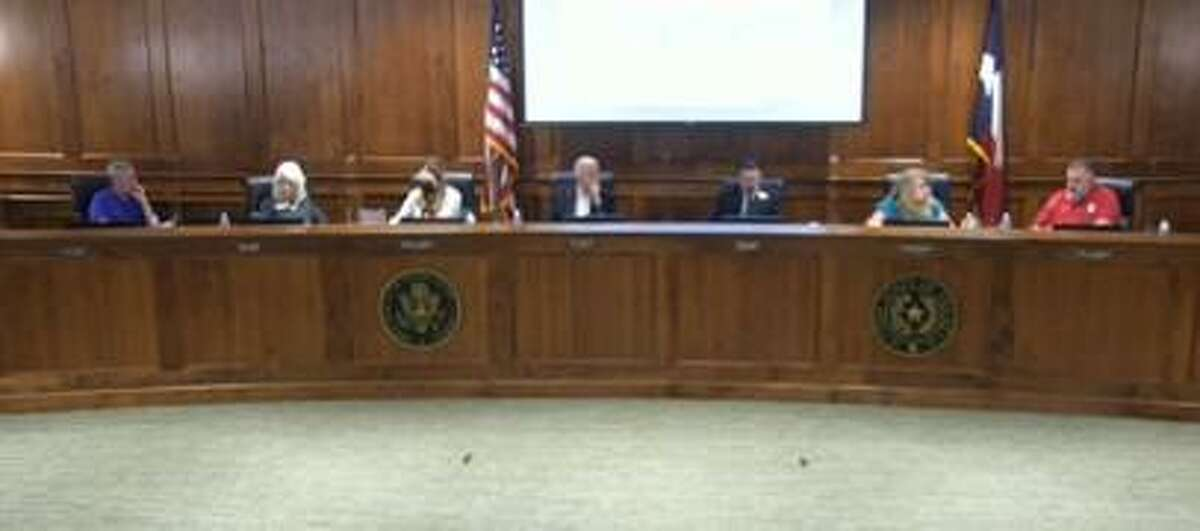 Katy city council discusses changes to animal control protocol at the city council meeting on April 12, 2021.