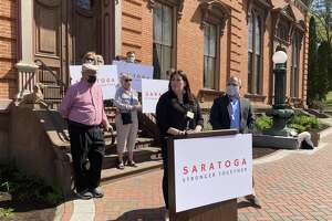 Commissioner of Public Safety Robin Dalton seeks to be the city's mayor on the third-party line, Saratoga Strong.