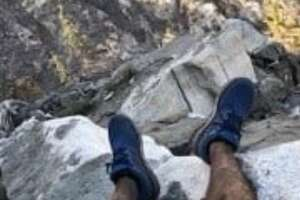 A Southern California man sent this photo before going missing on a hike. An internet stranger used it to help locate him safely.