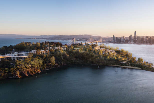 New renderings of the 266 luxury homes on Yerba Buena Island, now for sale.