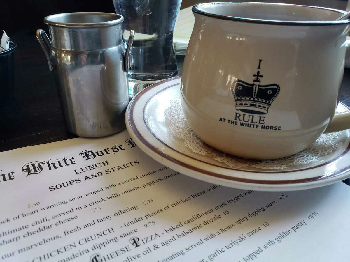 The award-winning White Horse Country Pub and Restaurant is a destination in Washington, CT.