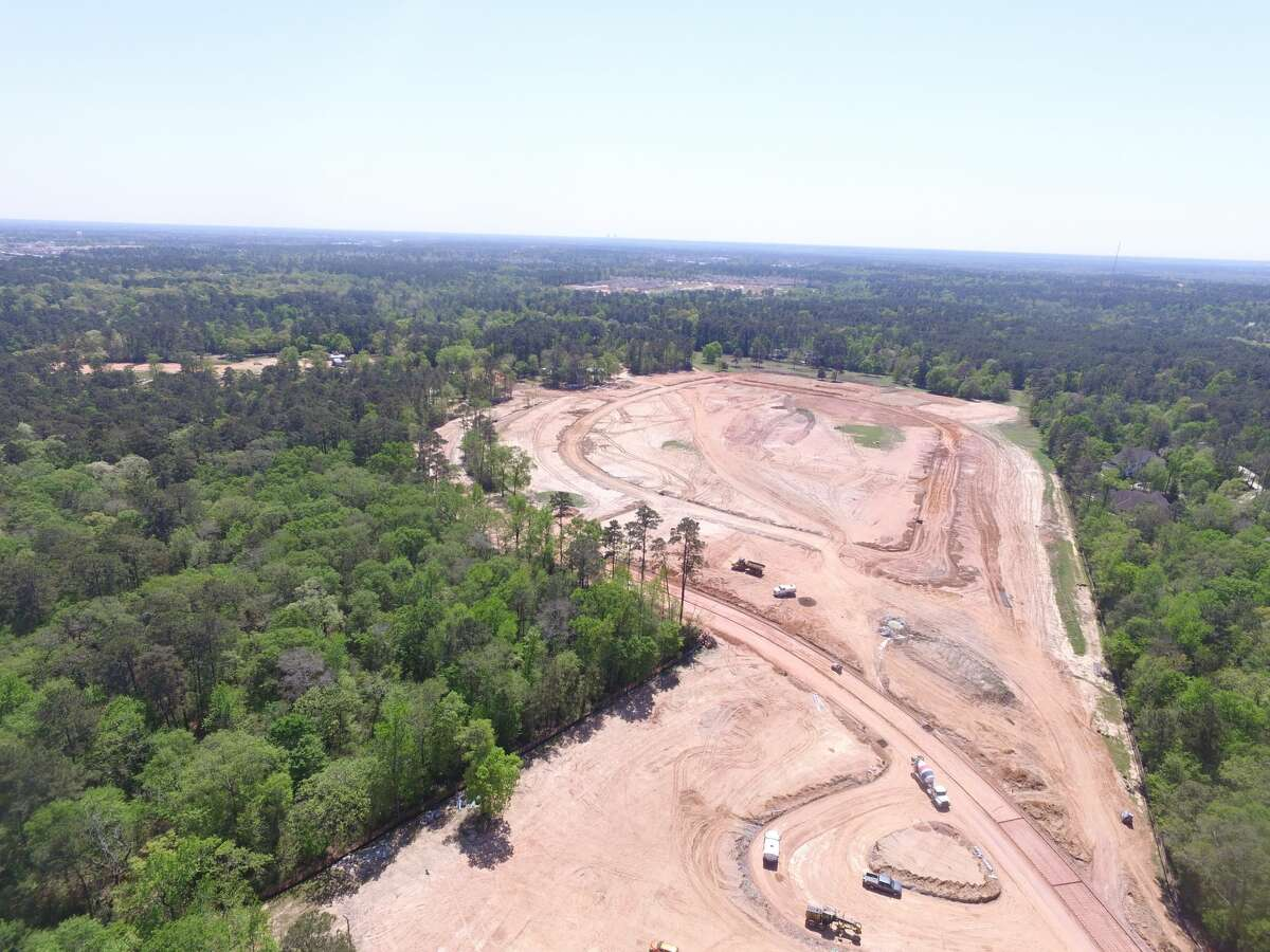 Meritage Homes is developing the Montgomery Oaks community in Conroe. Planned for 479 homes, the 129.25-acre development is west of Interstate 45 near League Line Road.