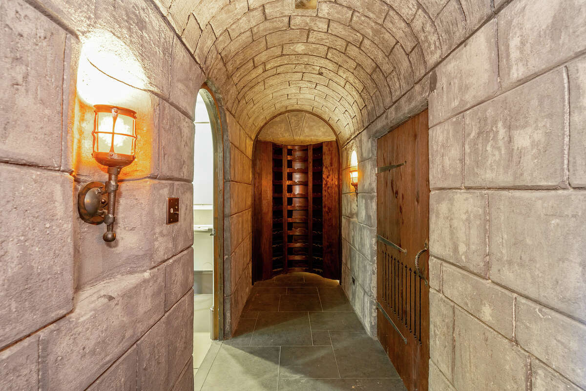 This Tudor stone hallway seems like it could be a scene from Game of Thrones.