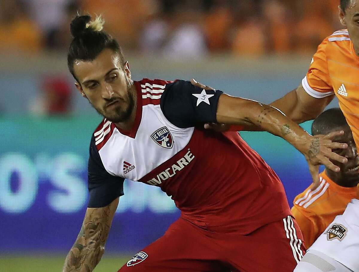 In his first eight MLS seasons - spent with Toronto, Portland, Dallas and Montreal - new Dynamo forward Maxi Urruti totaled 53 goals in 208 appearances.