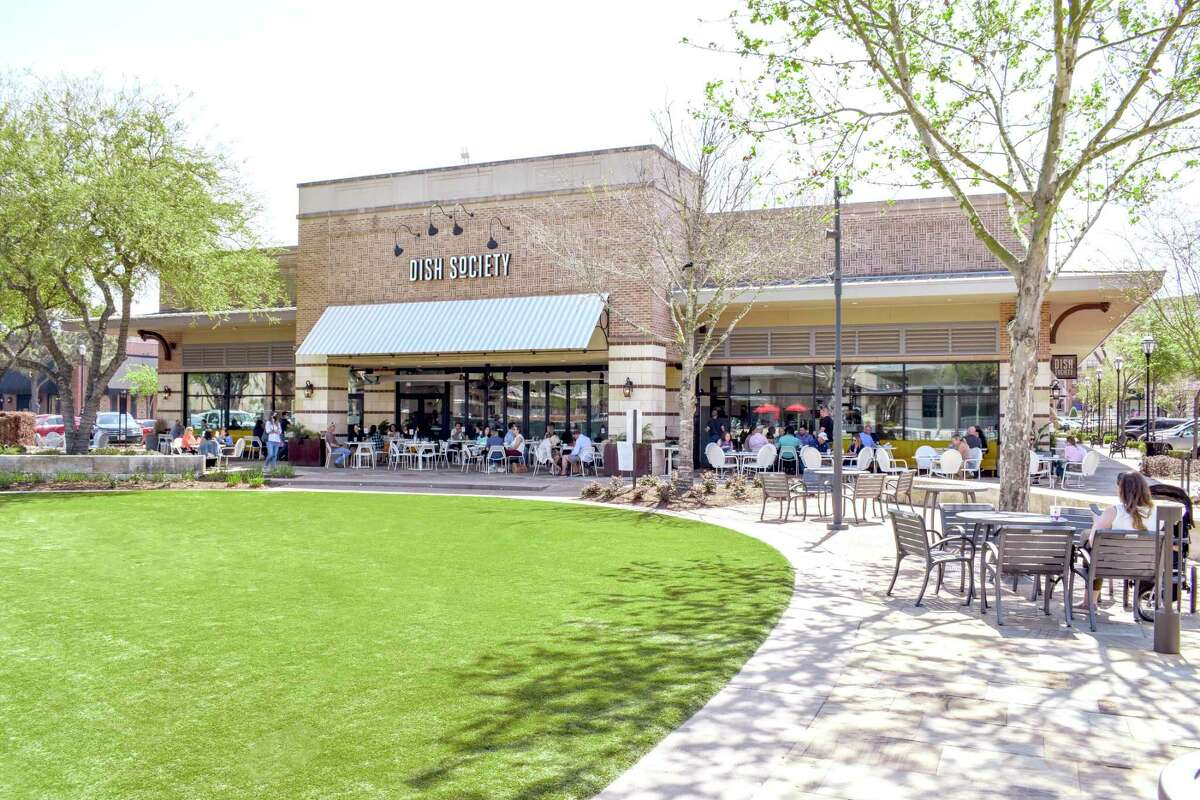 Dish Society's new space at LaCenterra at Cinco Ranch in Katy has patio seating for 80.