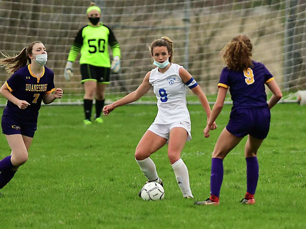 Schoharie's Megan Krohn is the Times Union small-school Athlete of the Year.