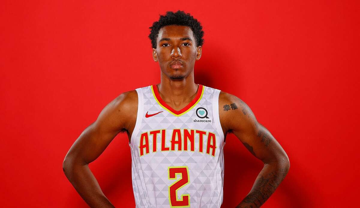 ATLANTA, GEORGIA - SEPTEMBER 30: Armoni Brooks #2 of the Atlanta Hawks poses for portraits during media day at Emory Sports Medicine Complex on September 30, 2019 in Atlanta, Georgia. (Photo by Kevin C. Cox/Getty Images)