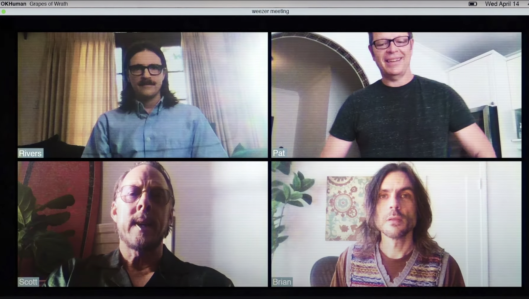 Weezer Play Hooky in New 'Grapes of Wrath' Video