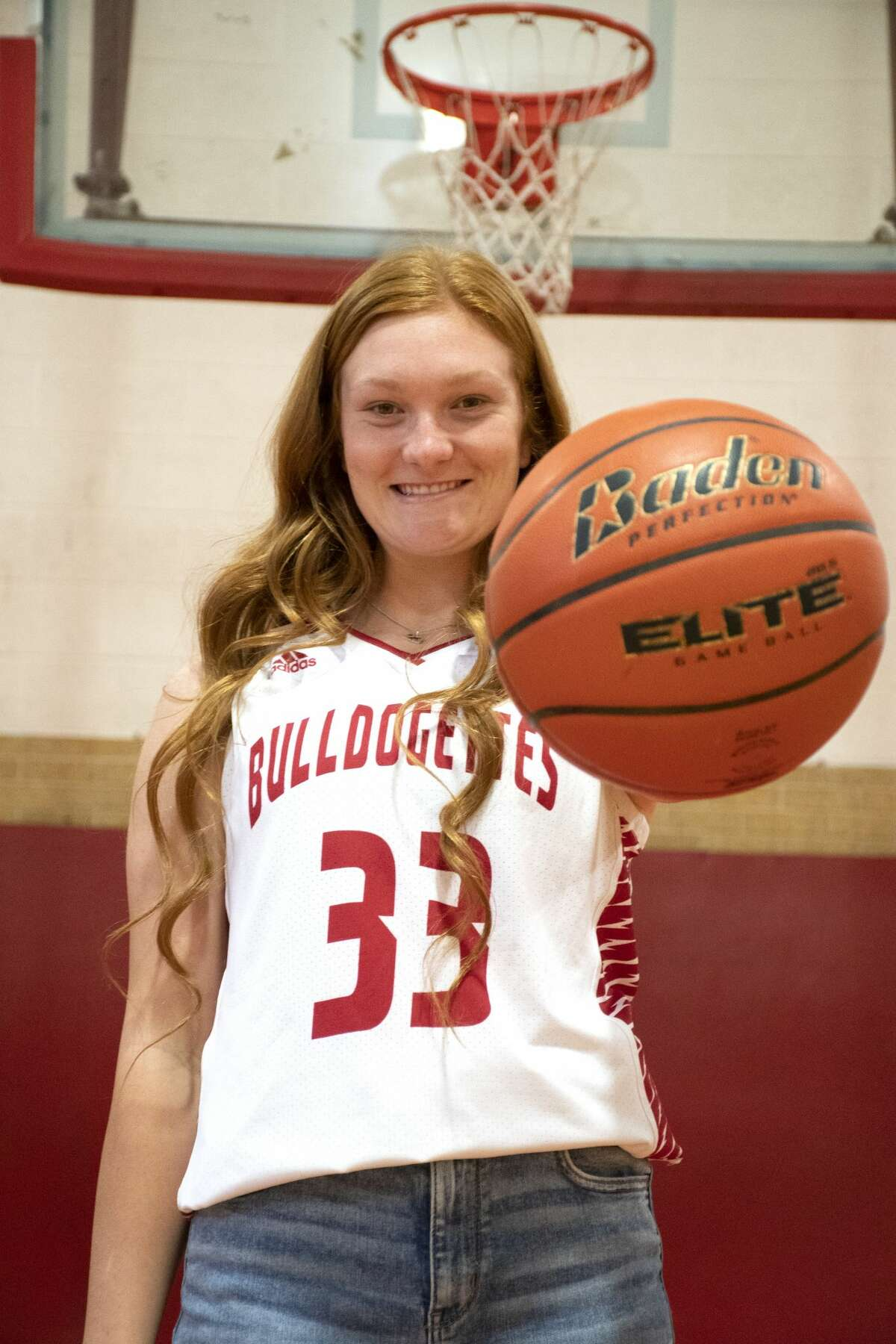 Coahoma senior post MaKynlee Overton is the Reporter-Telegram's Girls Basketball Player of the Year.