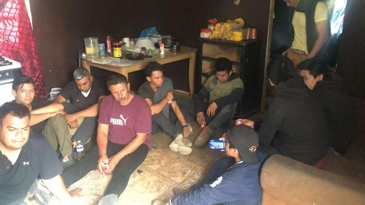Authorities said they discovered 22 individuals inside a stash house located in the 400 block of West San Pedro Street. All were determined to be illegally present in the country.