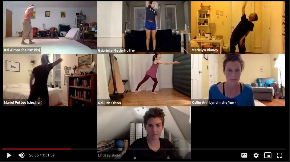 """""""Transpositions: dance poems for an online world"""" is a 16-episode series from Yale Dance Lab featuring virtual dance poems by 66 dancers."""