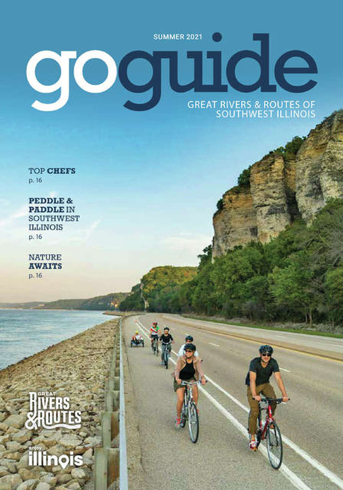 The the Great Rivers & Routes Tourism Bureau's new Go Guide magazine focusing on travel experiences in the six-county region is now available online and area businesses.