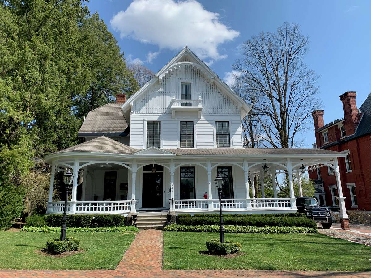 748 Broadway, Saratoga Springs, will be included in a virtual historic home tour hosted by the Saratoga Springs Preservation Foundation May 8 and 9, 2021.