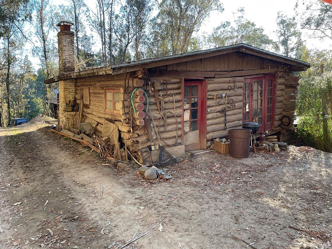 A rustic log cabin in one of the Bay Area's priciest ZIP codes is sell... image