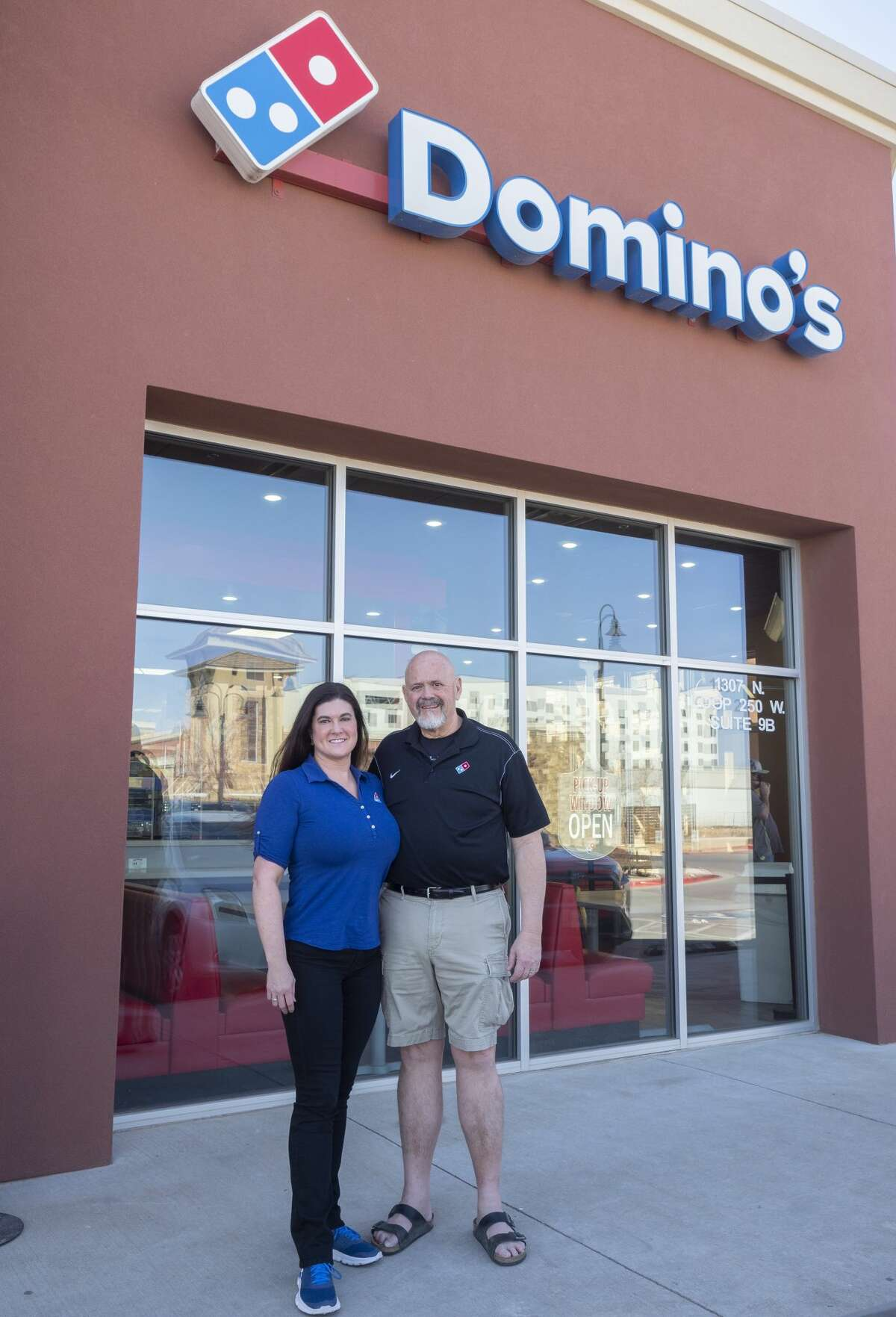 Cassie and Jim Gerety, owners of several Domino's franchises from Pecos to Abilene, experienced many challenges throughout the pandemic. Now one year into the pandemic, the couple is hoping that the adjustments and changes made during that time will allow their businesses to continue to prosper even in difficult and uncertain times.