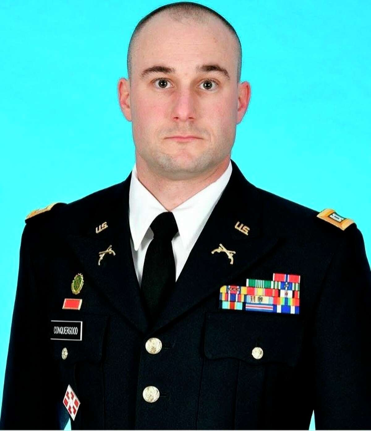 Maj. Chad Curtis Conquergood, a native of Harbor Beach, Michigan, served as part of the Department of Defense's whole-of-government COVID-19 response under Task Force 46. (Courtesy Photo)