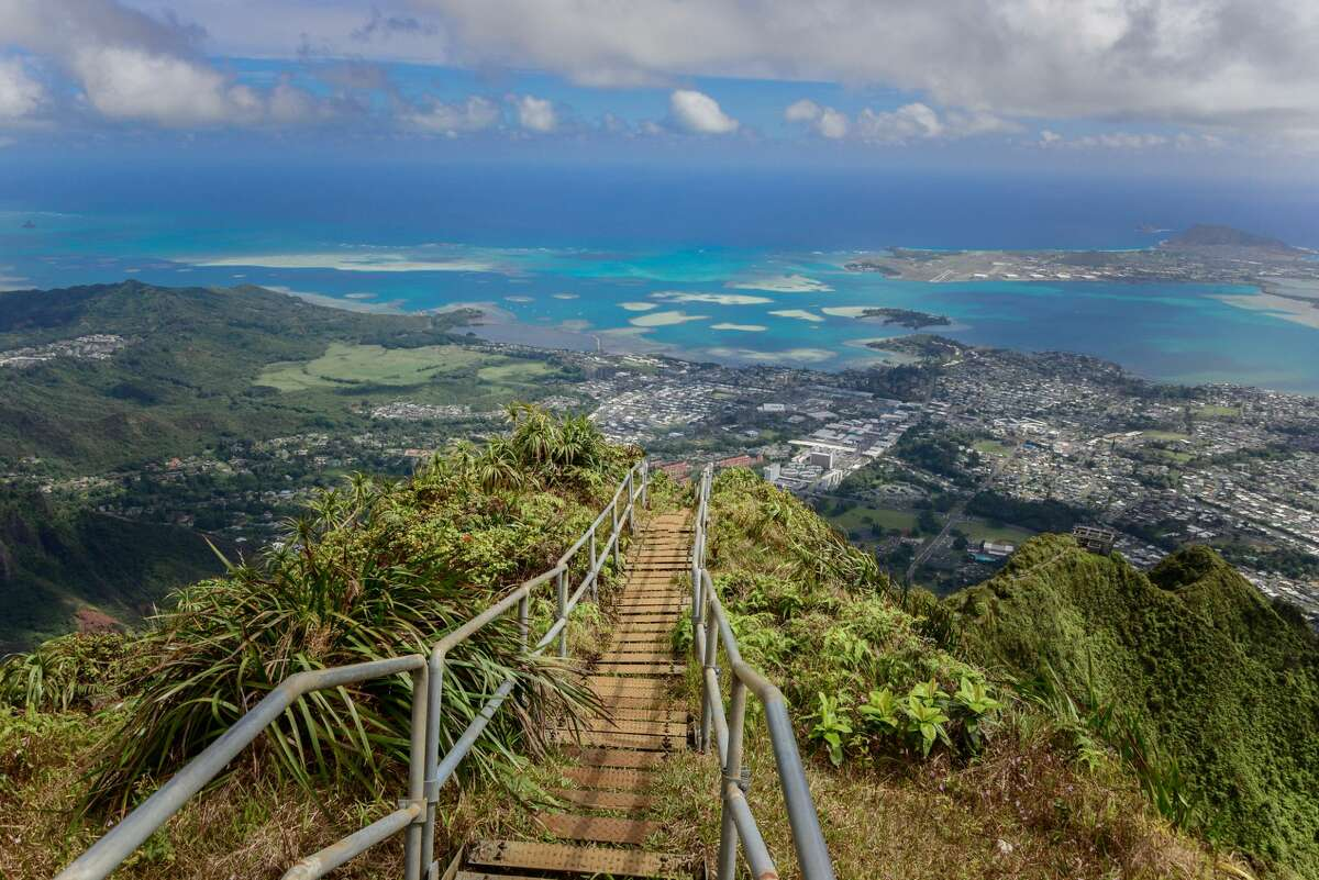 The Haiku Stairs are known around the world as the 'Stairway to Heaven.'