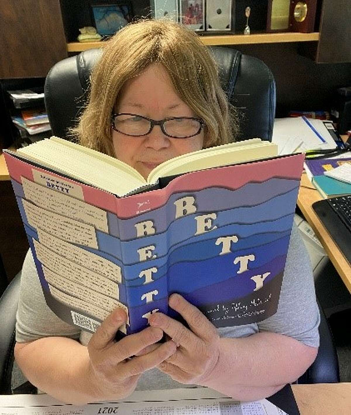 The City of Plainview Unger Memorial Chief Librarian Cynthia Peterson was chosen to serve as the Vice-Chair of the Texas Library Association Lariat Committee.