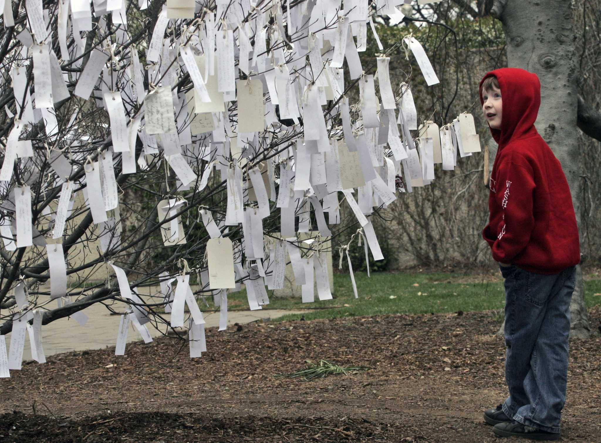 Yoko Ono's 'Wish Tree' at D.C.'s Hirshhorn Sculpture Garden is branching out