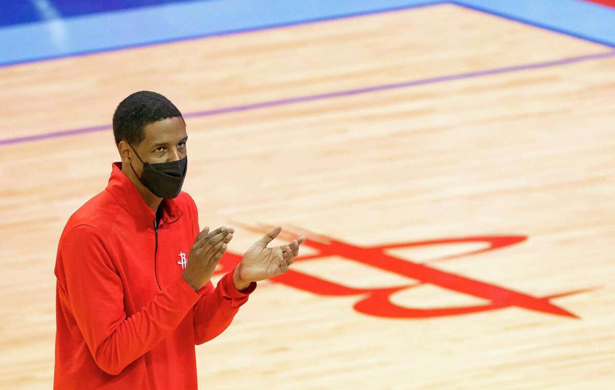 Rockets coach Stephen Silas offered his players guidance in wake of Daunte Wright killing.