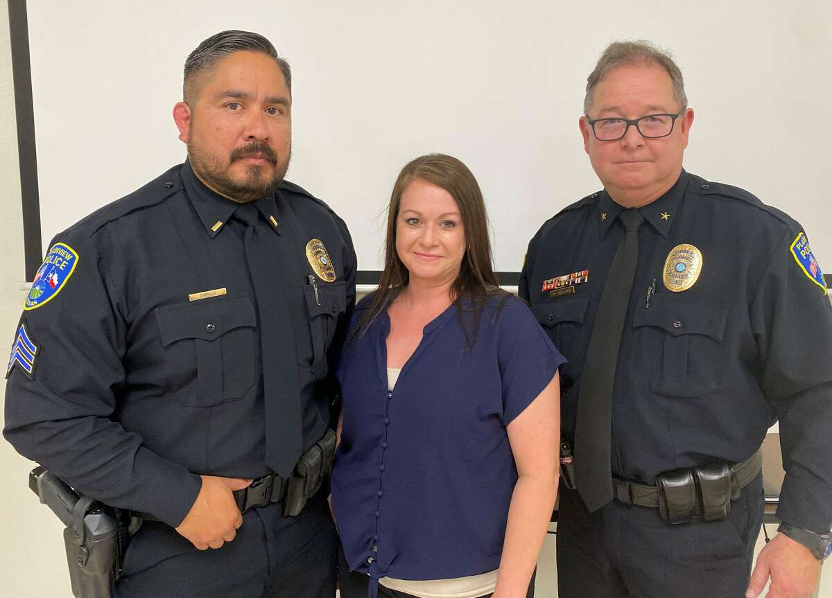 The Plainview Police Department recently promoted Gabriel Carrillo to patrol lieutenant. Carrillo has served the Plainview PD for nine years.