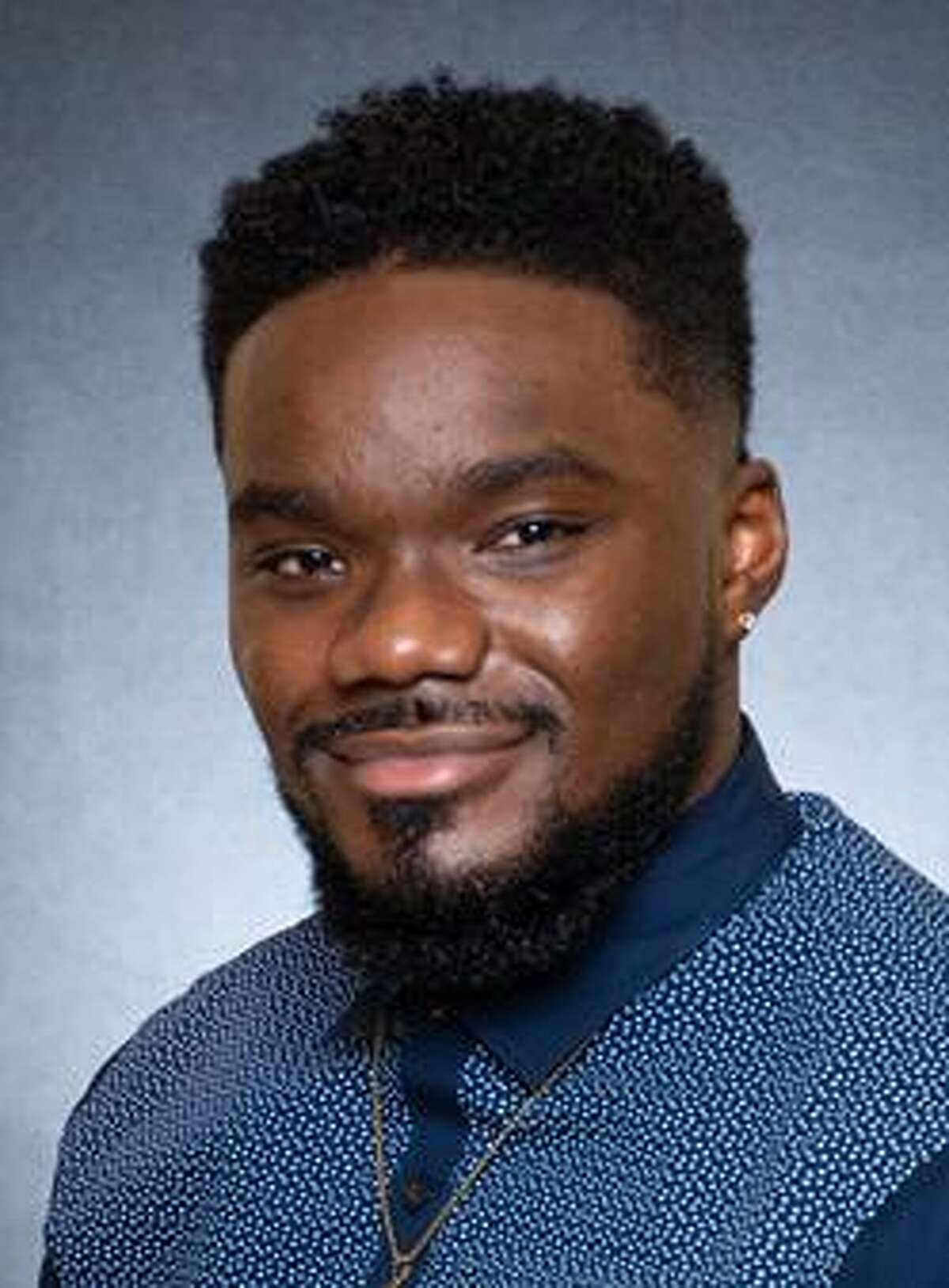 Sherman Batiste of Elkins High School is the 2021 District Secondary Teacher of the Year in Fort Bend ISD.