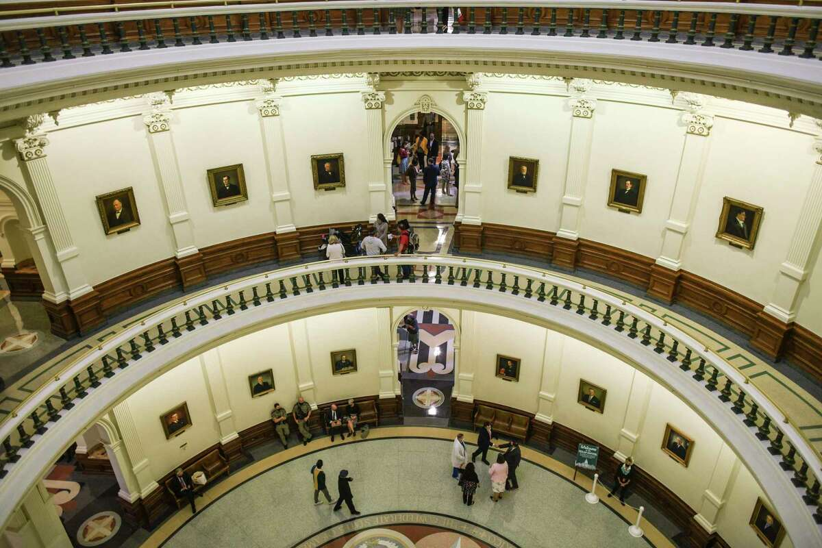 Legislators in the Texas Capitol considered the issue of permitless gun carry on Thursday, April 15, 2021.