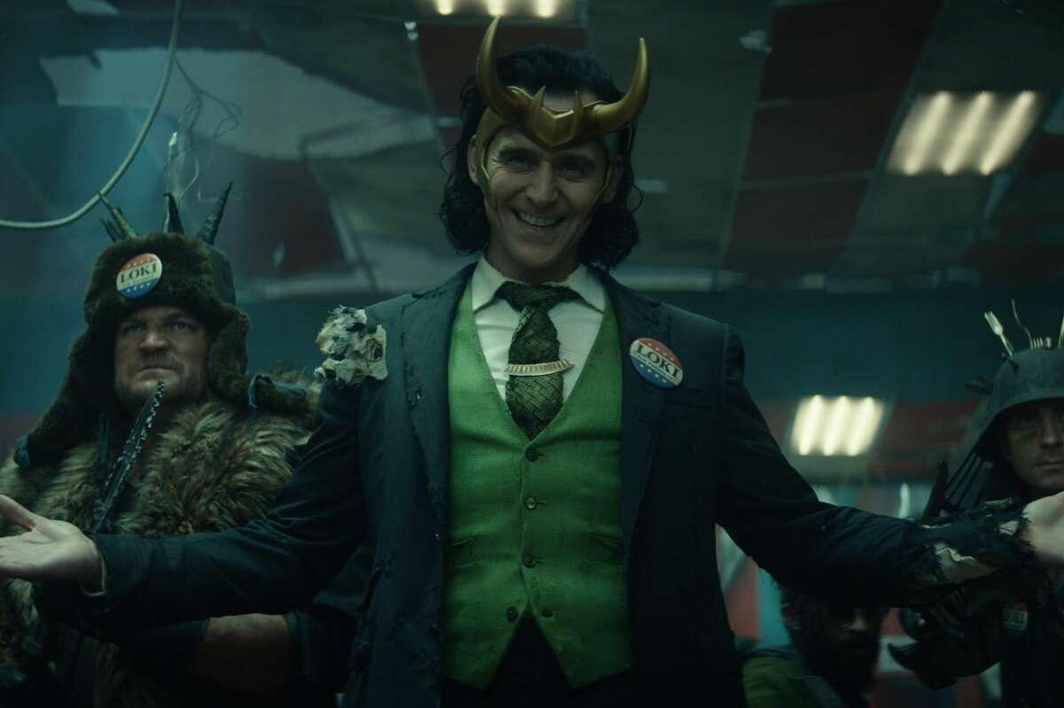 Loki, played by Tom Hiddleston.