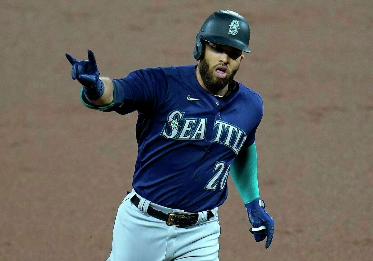 Mariners right fielder Mitch Haniger, who is slugging .623 in the early going, went yard in both games of Seattle's doubleheader sweep at Baltimore on Thursday, giving him four home runs for the season.