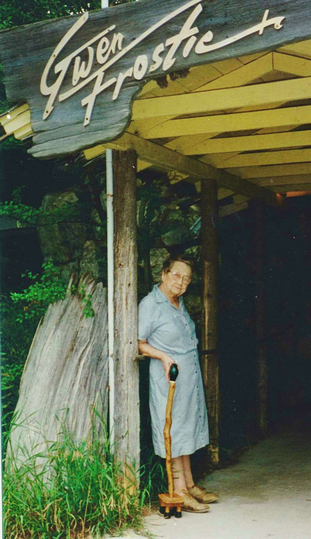 Gwen Frostic created Presscraft Papers in 1964 in Benzonia Township and sold her wilderness influenced art printed using mechanical printing presses which visitors could watch in action. (Courtesy Photo)
