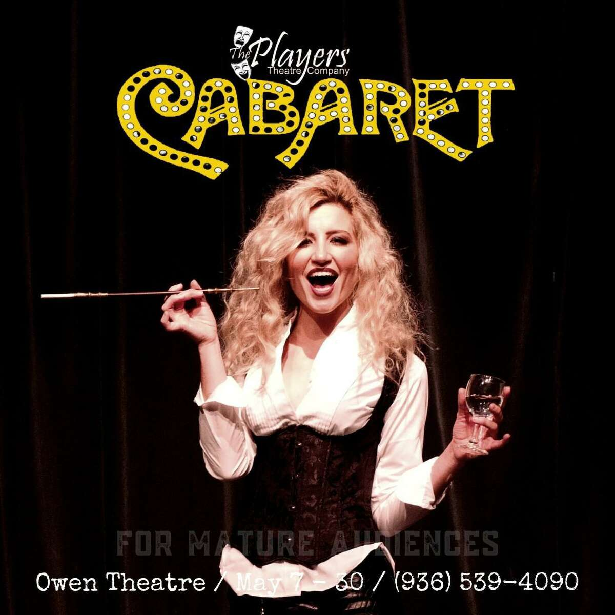 """""""Cabaret"""" is coming to the Owen Theatre May 7-30 from the Players Theatre Company."""