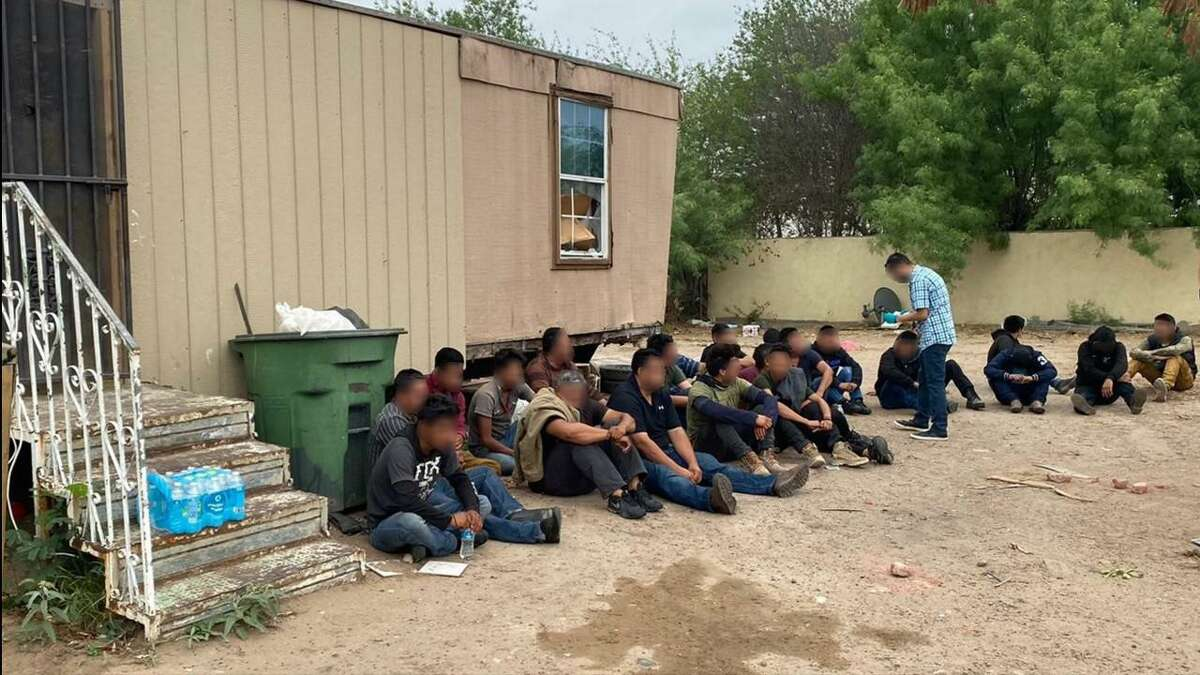U.S. Border Patrol agents along with other law enforcement agencies dismantled seven stash houses.