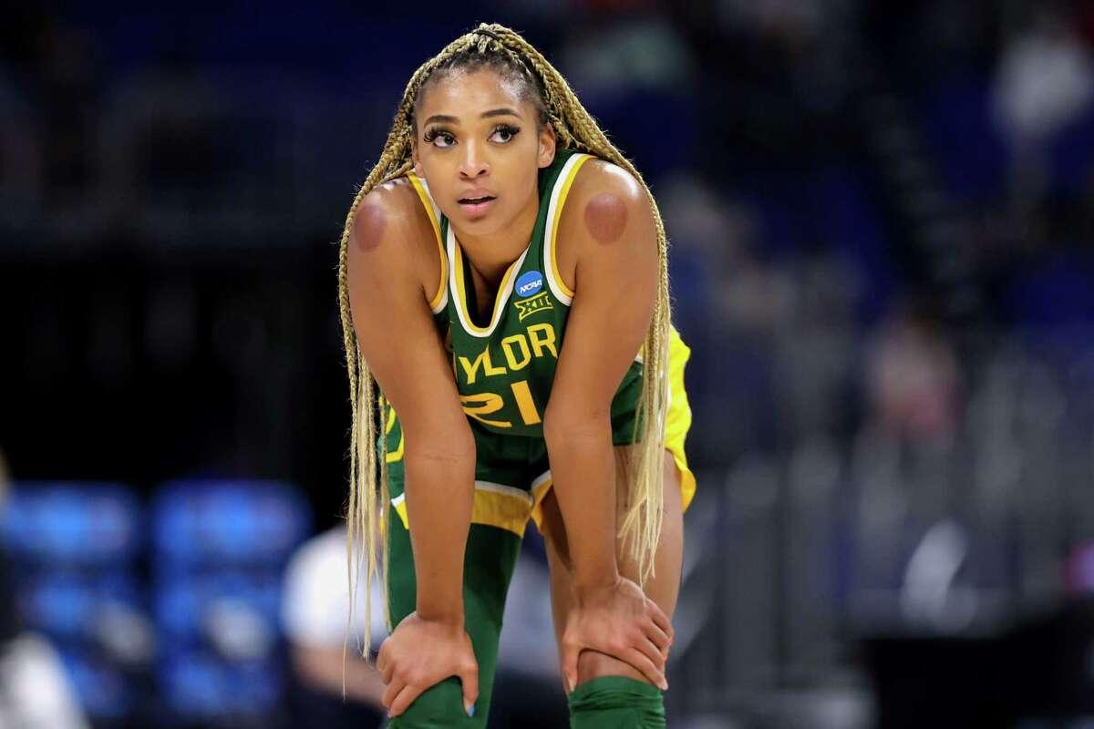 Baylor's DiJonai Carrington was picked by the Connecticut Sun in the WNBA draft on Thursday.