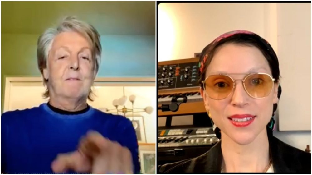 Paul McCartney and St. Vincent Talk One-Man and One-Woman Bands