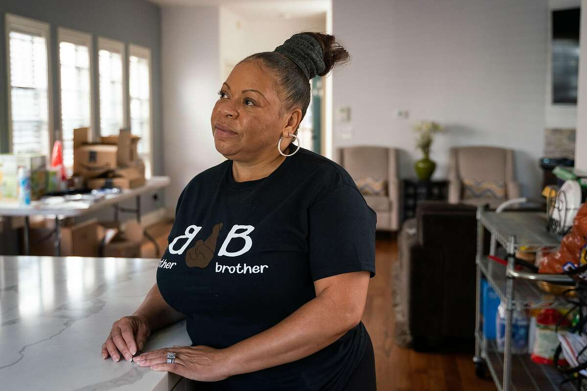 April Littlefield of West Oakland, who operates the Brother2Brother pop-up, is requiring all staff to be vaccinated and have food handler cards.