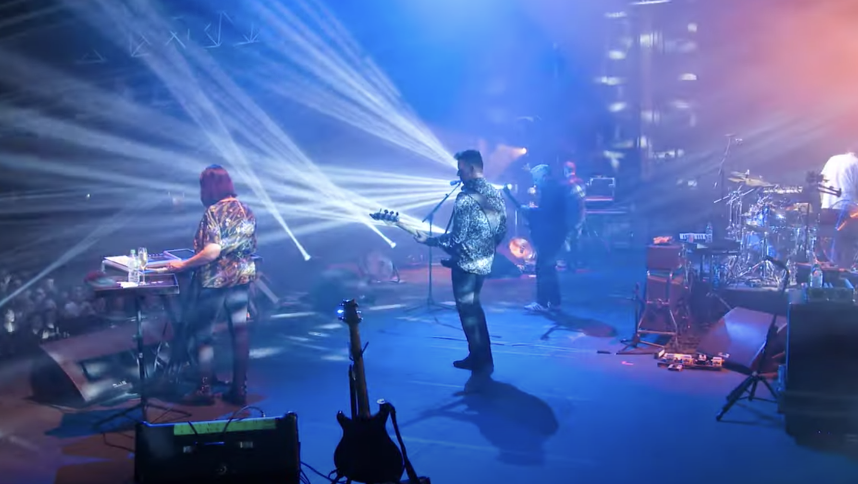 Watch New Order Perform 'The Perfect Kiss' at Alexandra Palace