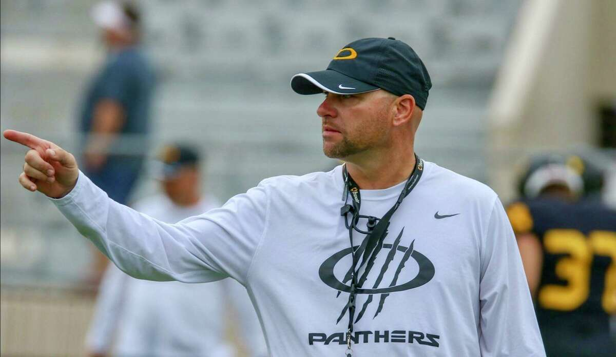 Klein Oak High School named offensive coordinator and quarterbacks coach Brandon Carpenter its new head football coach and campus director of athletics Tuesday, April 13. Carpenter has been at Klein Oak since 2017 and was previously the head coach at his alma mater Tarkington High School in Cleveland.
