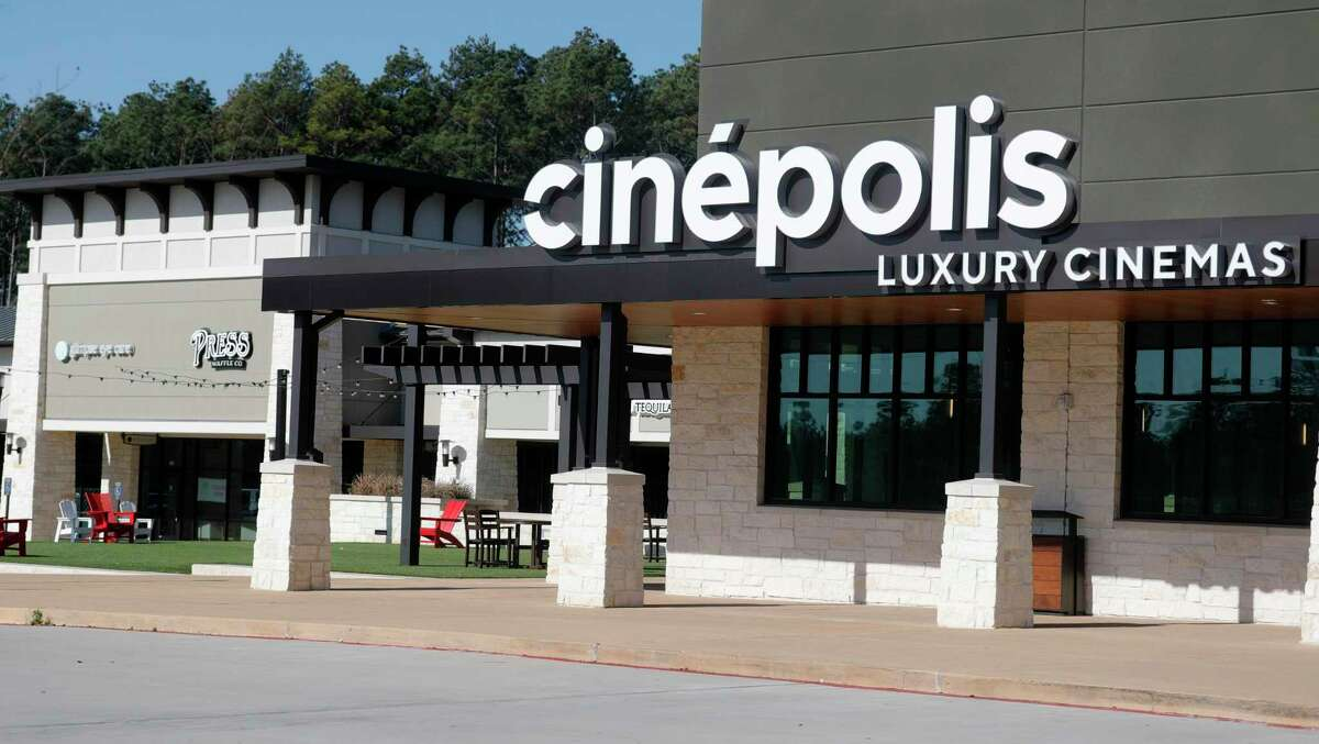 Cinepolis is seen in Creekside Park West along Kuykendahl Road, Friday, March 26, 2021, in The Woodlands.