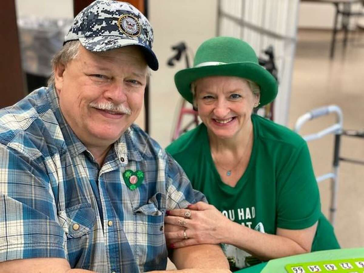 Participants of the Conroe Senior Center recently celebrated St. Patrick's Day at the center. The center offers free activities for those 55 and up. The center is seeking donations from local businesses to be able to offer more lunch-time meals at the center.