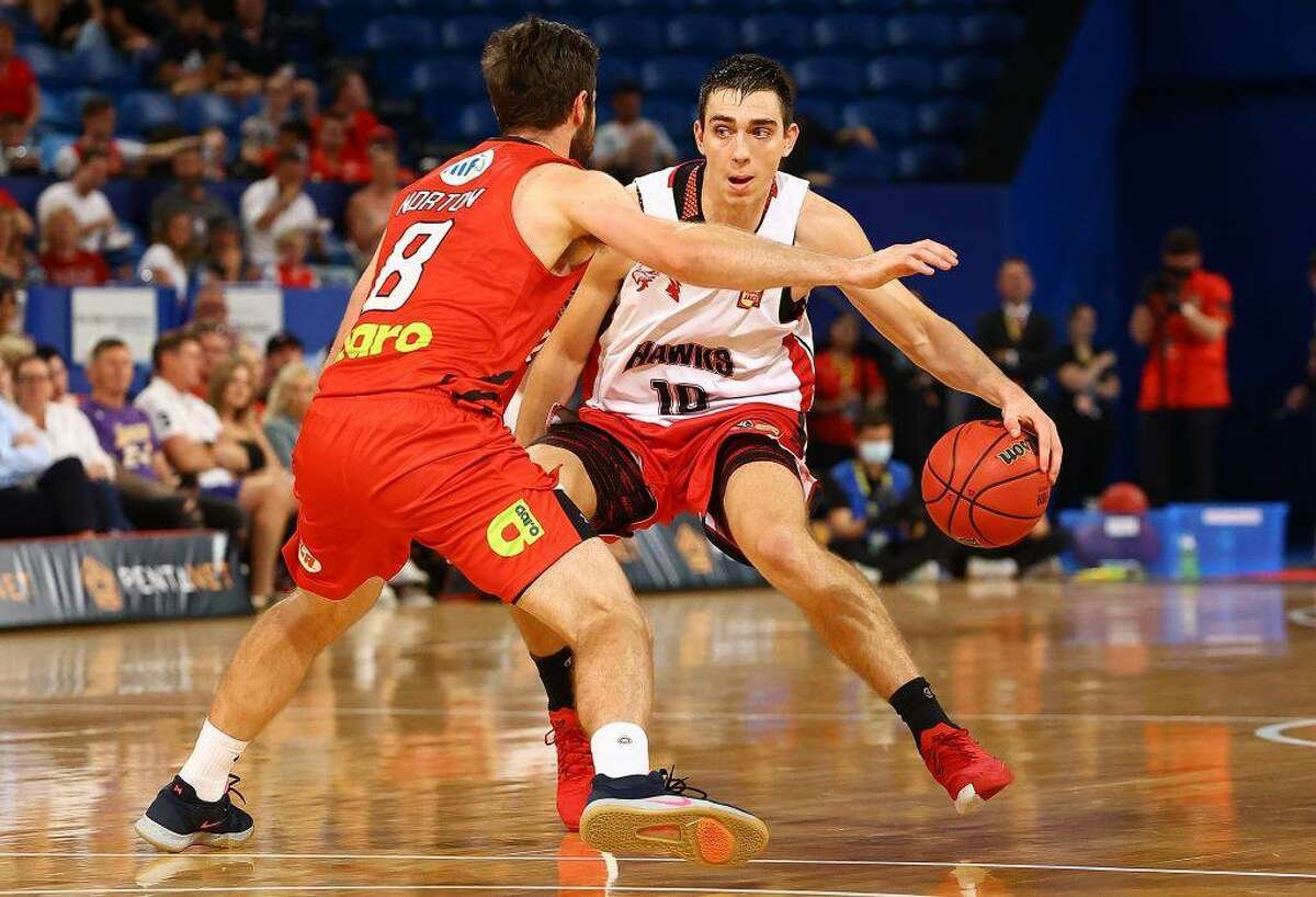 Justinian Jessup - the No. 51 pick in November's NBA draft by the Warriors - has averaged 14.8 points on 46.3% shooting (41.1% from 3-point range), 4.3 rebounds and 1.9 assists in 23 games with the Illawarra Hawks of Australia's National Basketball League.
