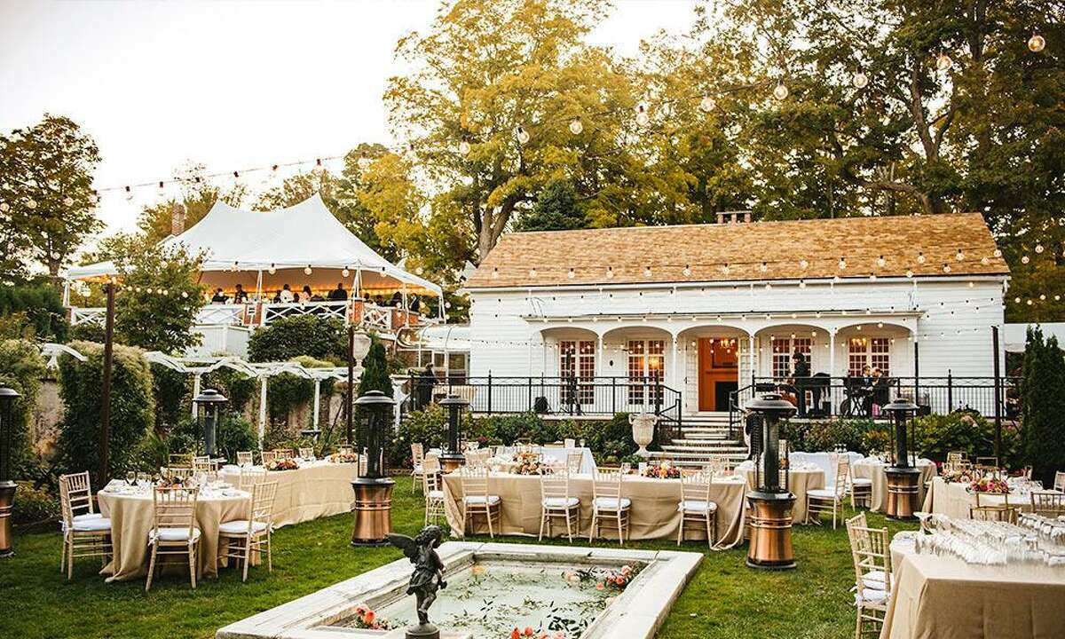 The Keeler Tavern Museum & History Center's Garden House, in Ridgefield, has been selected as a 2021 winner in The Knot's Best of Weddings awards.