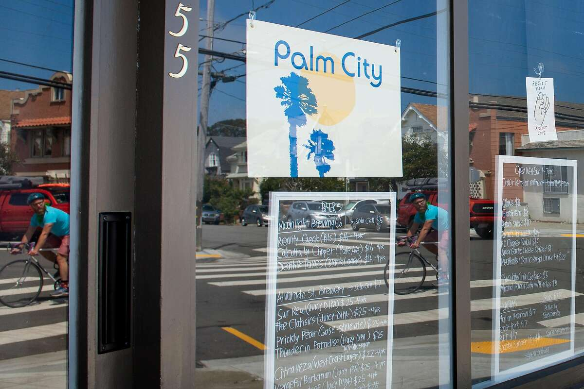 Palm City, pivoted their business strategy in the midst of the pandemic to churning out some of the best sandwiches in the city, before opening to serve hoagies to customers on August 7, 2020 in San Francisco, Calif.