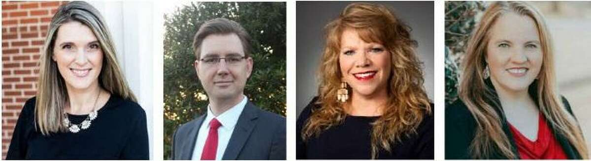 Katy City Council candidates from left include Gina Hicks, Dan Smith, Jenifer Stockdick and Diane Walker.