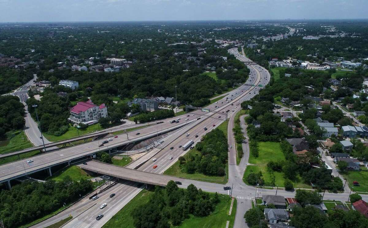 Interstate 45 goes under Quitman Street, north of downtown, seen on Friday, July 5, 2019, in Houston.