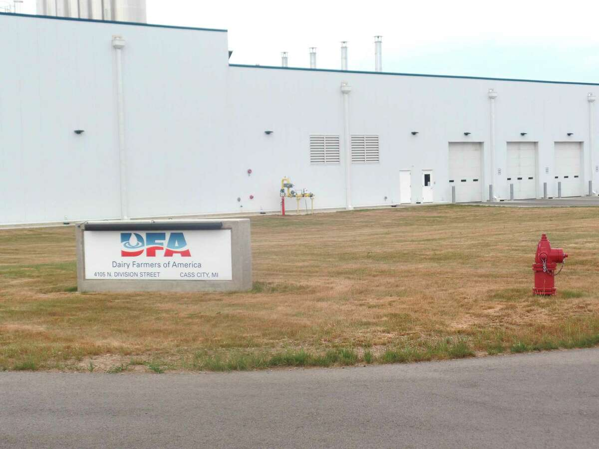 Dairy Farmers of America wants to expand its operation in Cass City's industrial park, and is looking for a company to partner with to accomplish that. DFA issued a prospectus for a joint-venture milk processing opportunity in the village. (Mary Drier/For the Tribune)